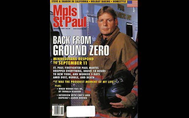 November 2001 Mpls.St.Paul Magazine Cover