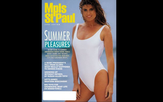 June 1989  Mpls.St.Paul Magazine Cover