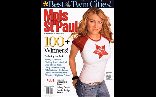 December 2005 Mpls.St.Paul Magazine Cover