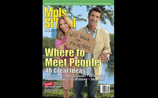 July 2005  Mpls.St.Paul Magazine Cover