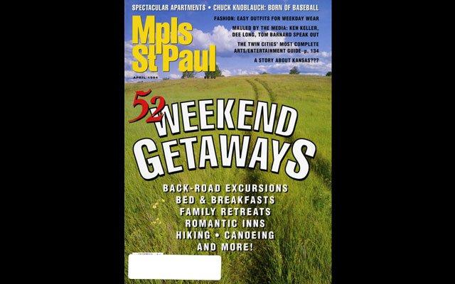 April 1994 Mpls.St.Paul Magazine Cover