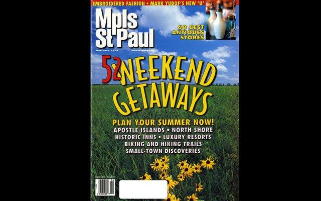 April 2002 Mpls.St.Paul Magazine Cover