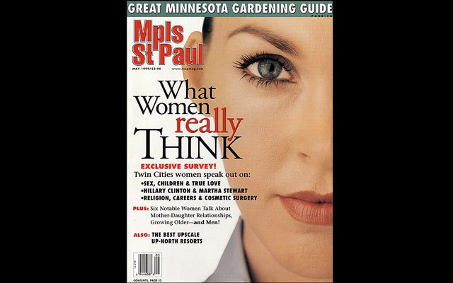 May 1999 Mpls.St.Paul Magazine Cover