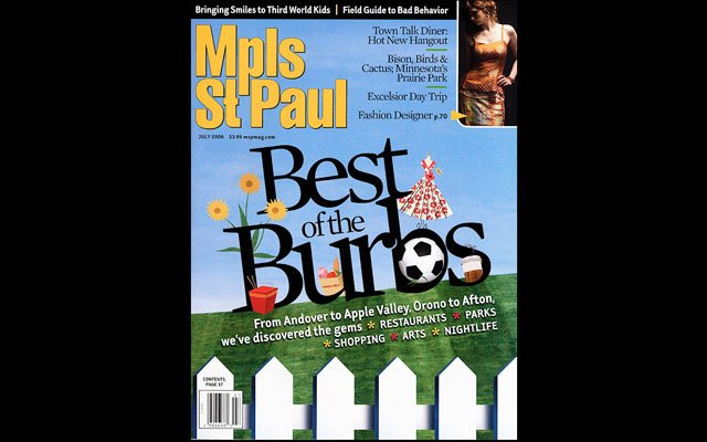 July 2006  Mpls.St.Paul Magazine Cover