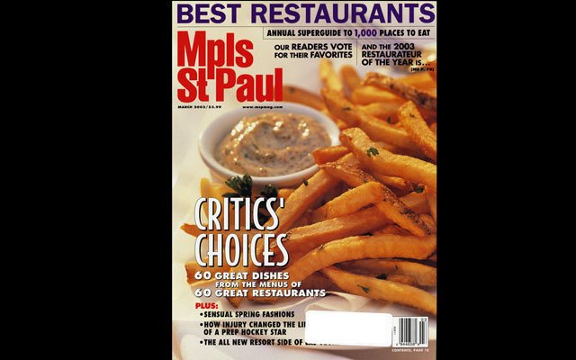 March 2003 Mpls.St.Paul Magazine Cover