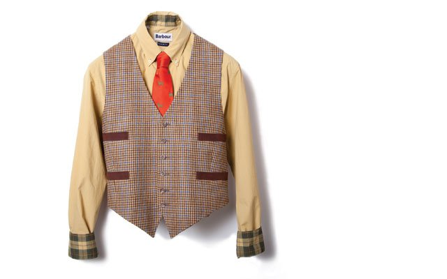 Dress shirt ($99), by Barbour; tie ($110), by Seaward &...