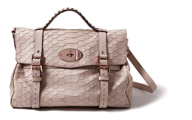 Snake print bag, by Mulberry, from Pumpz  & Company
