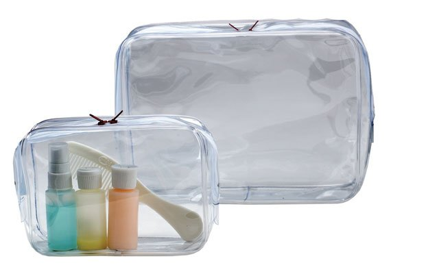 Clear bags from The Container Store