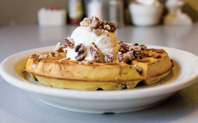 Waffles at Hot Plate