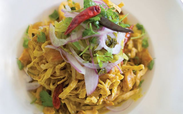 Insane chicken at Lemon Grass Thai Cuisine