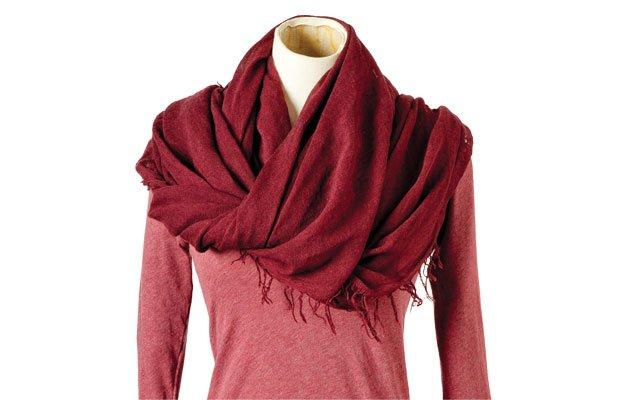 good stuff sweater and scarf