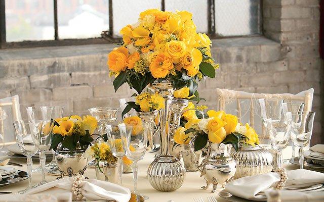 Beyond the Blooms: romantic tablescape
